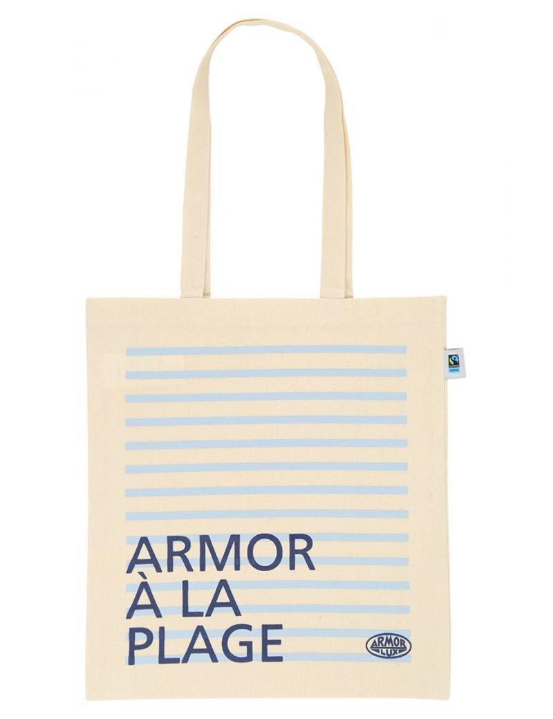 Tote bag Armor-lux en coton équitable | Accessoire | Armor-lux