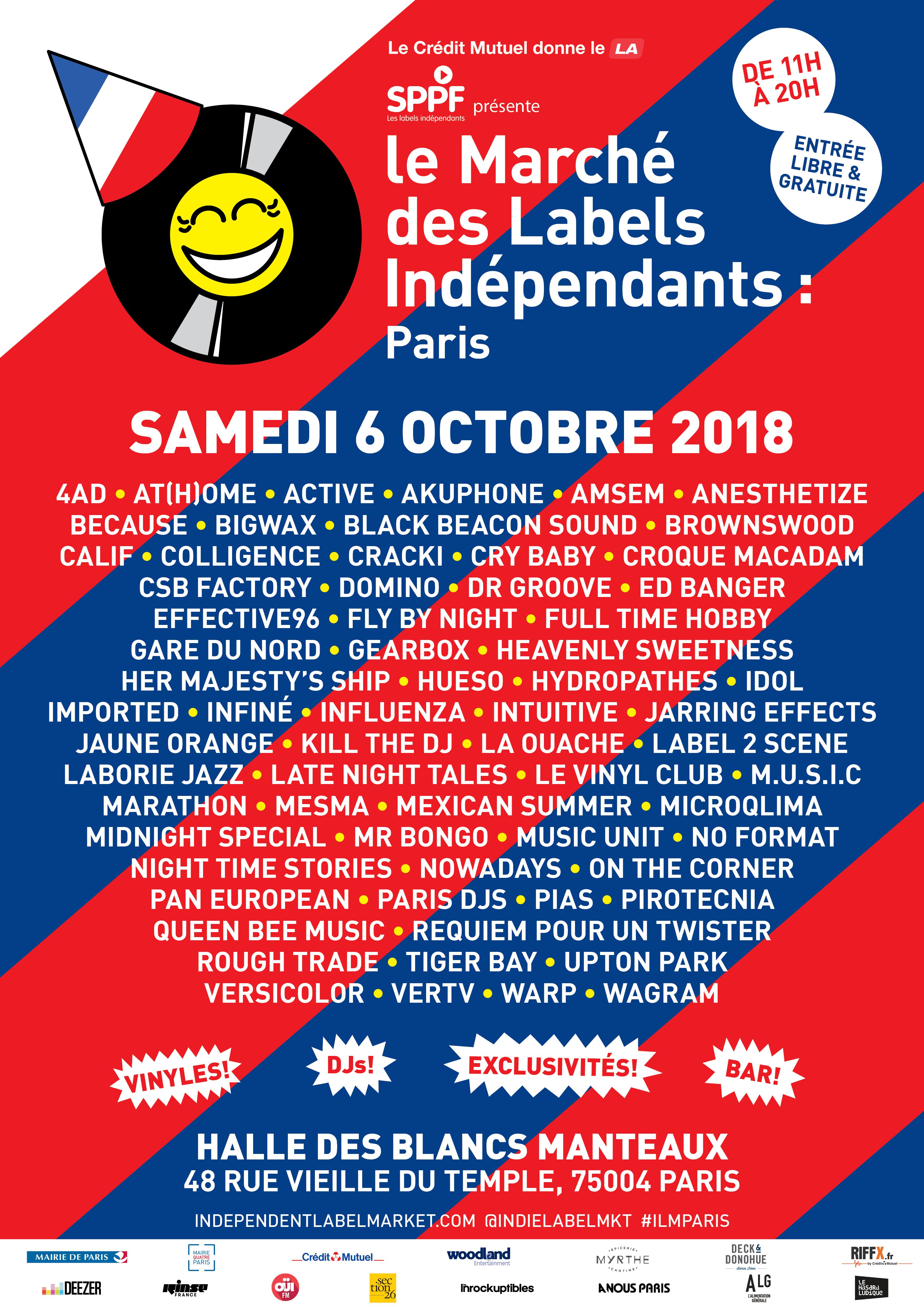 Marché des labels indépendants 2018