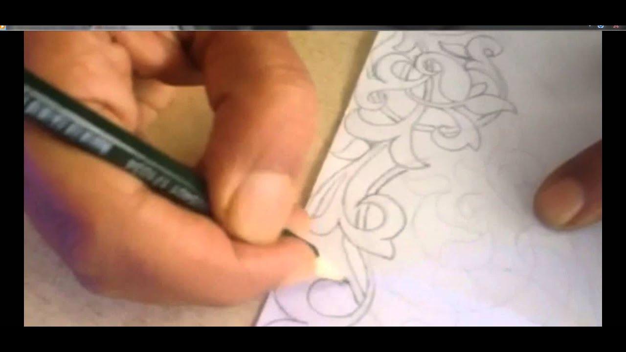 artisanat marocain dessin (tachjire)