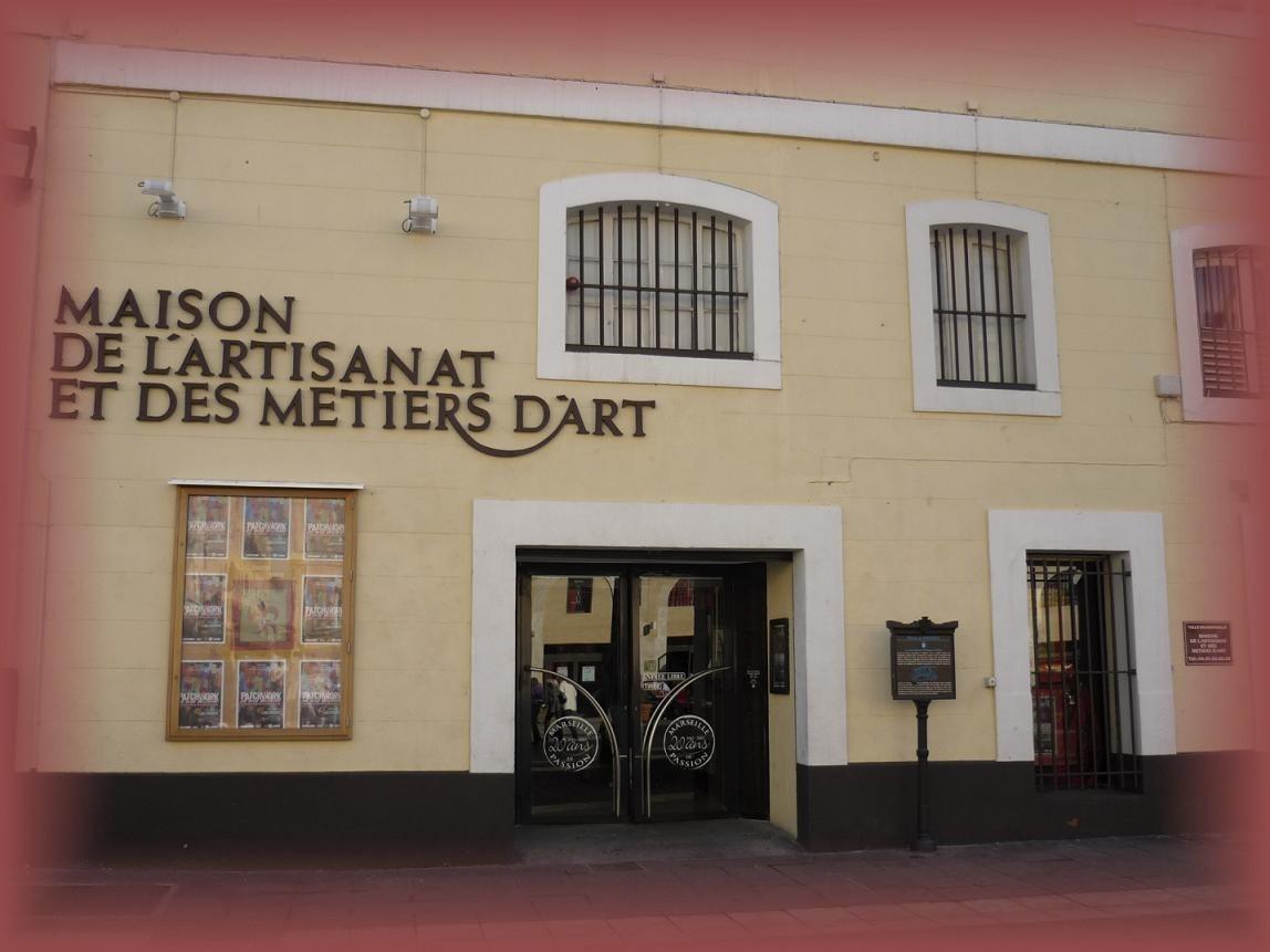 Direction la Maison de l'Artisanat et des Métiers d'Art ...