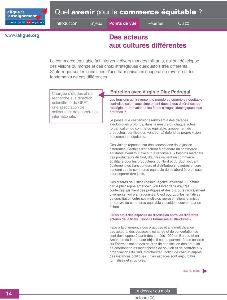 Quel avenir pour le commerce équitable? - PDF