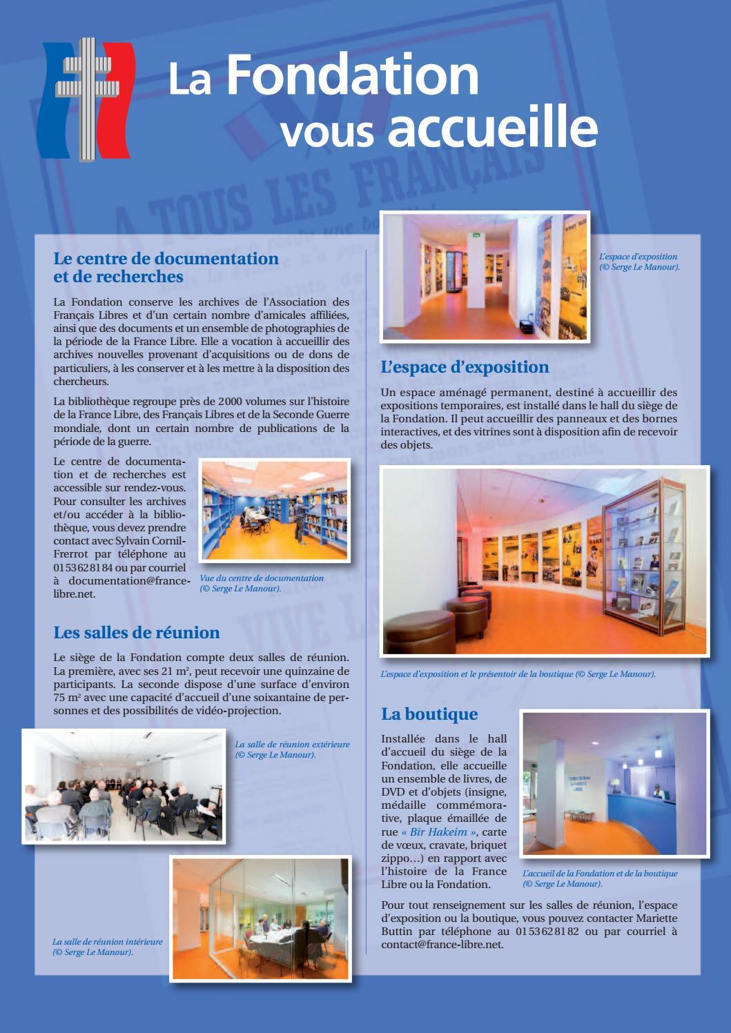 Revue de la France Libre n°64 by Fondation de la France ...