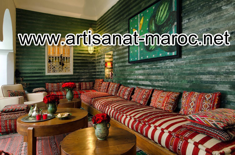 Creation de Salon marocain pas cher | L'artisanat Marocain