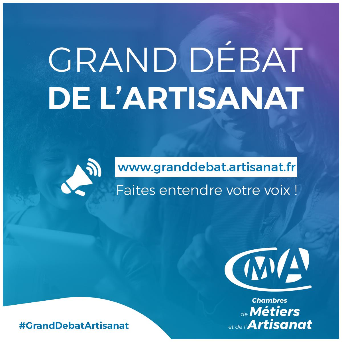 Grand Débat de l'Artisanat | Le portail des Chambres de Métiers et ...