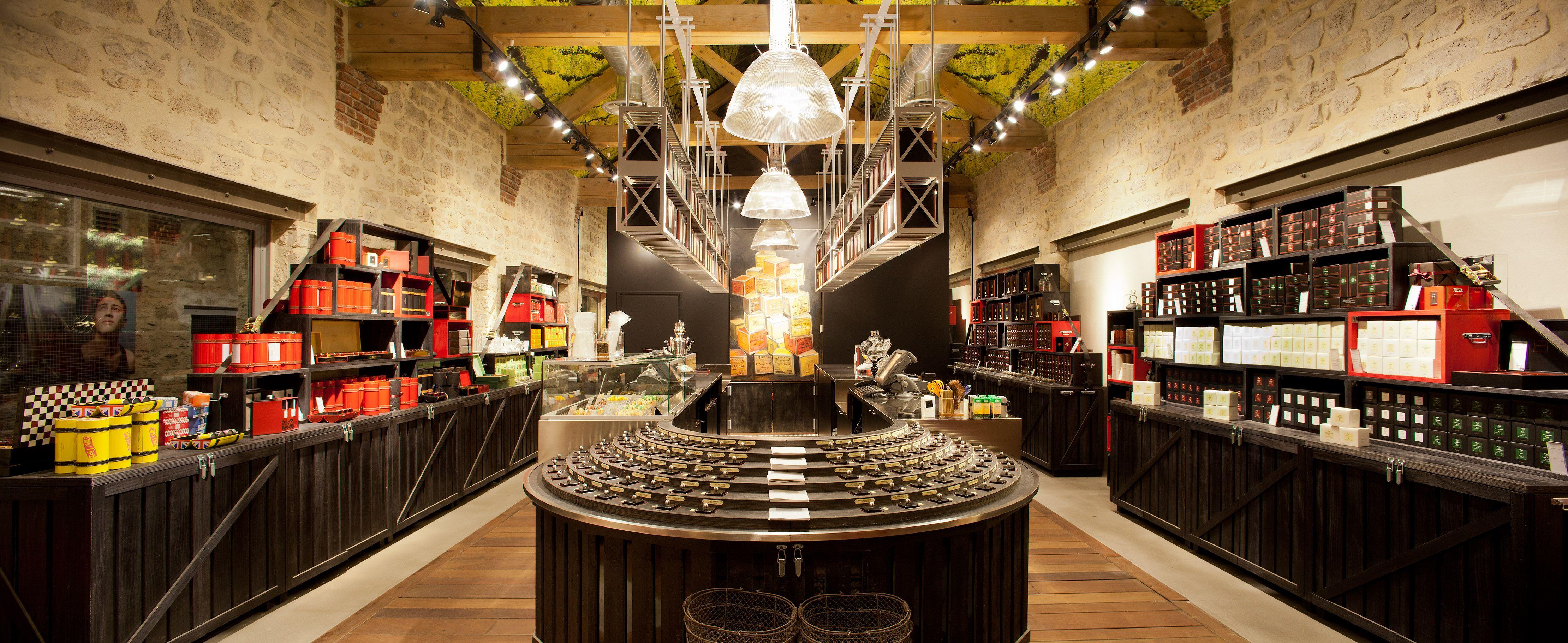 Boutique de #thés et #infusions #Dammann Frères dans le ...