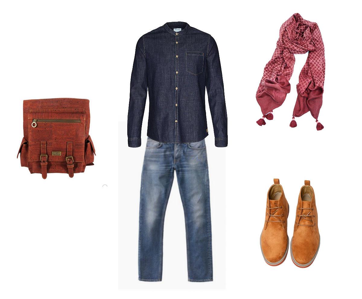 Mode éthique : look masculin d'automne - La Gazette Bio