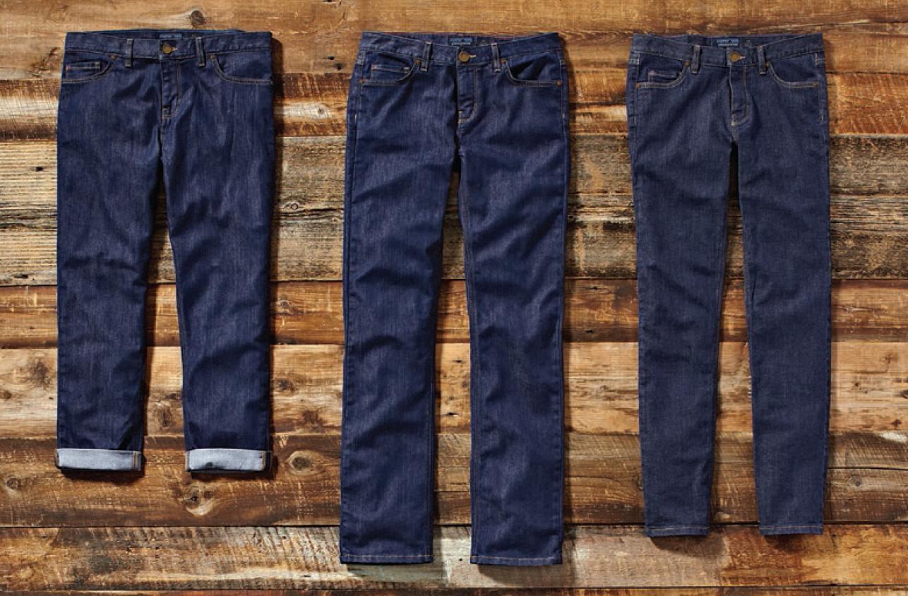Deux bains de teinture au lieu de quinze : le jeans le plus ...