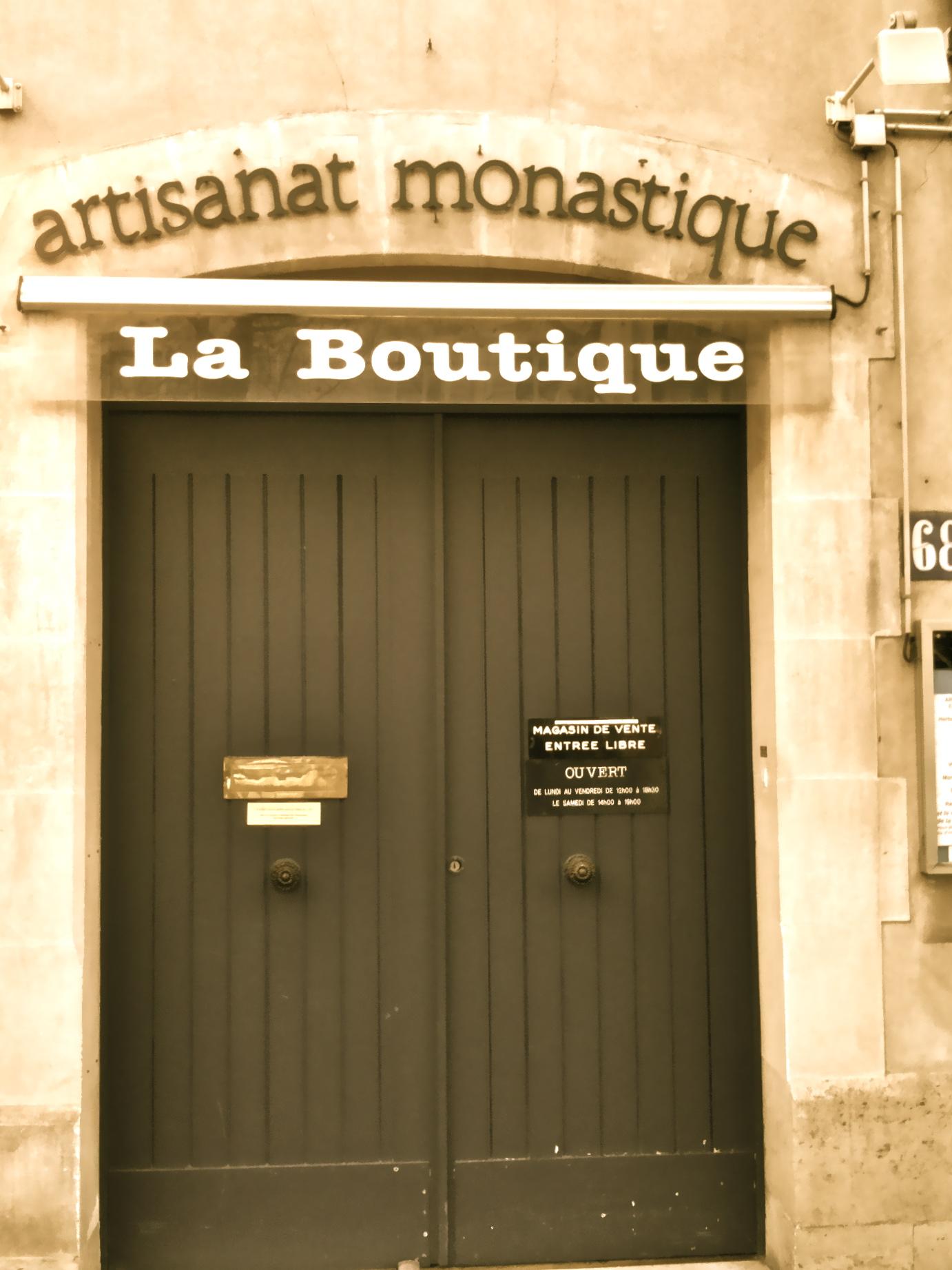 L'artisanat Monastique – Anon's Paris