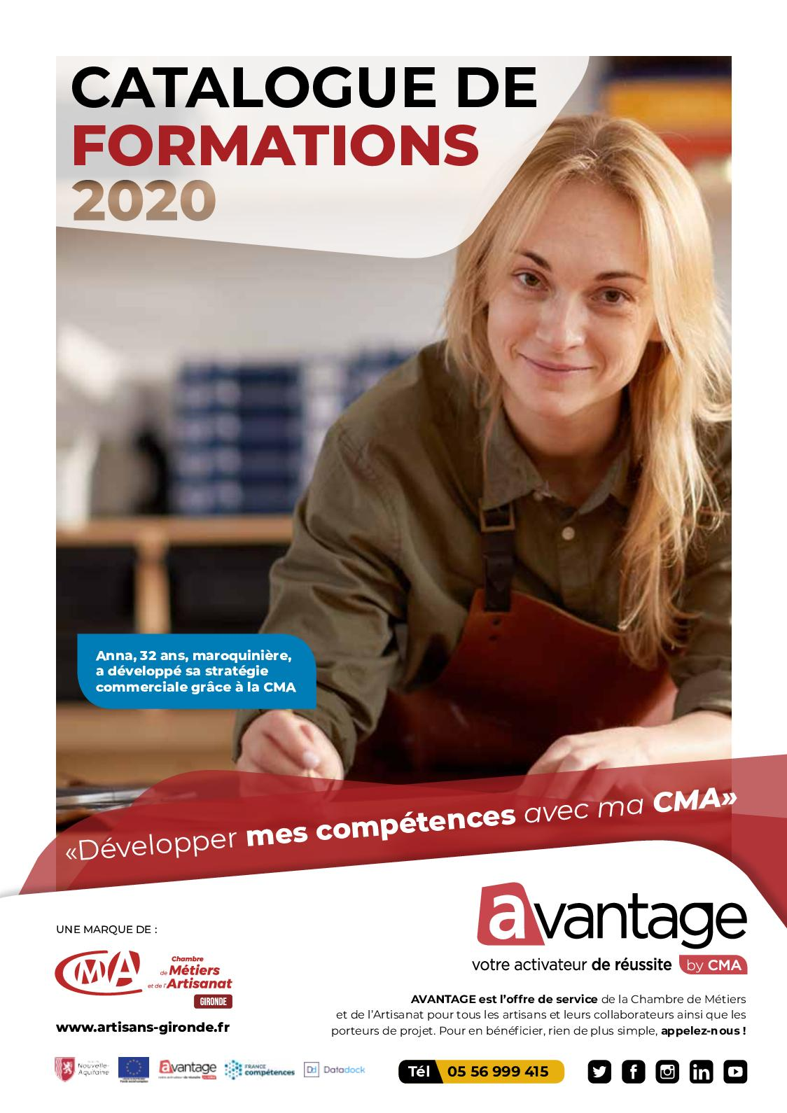 Calaméo - Catalogue de formations 2020