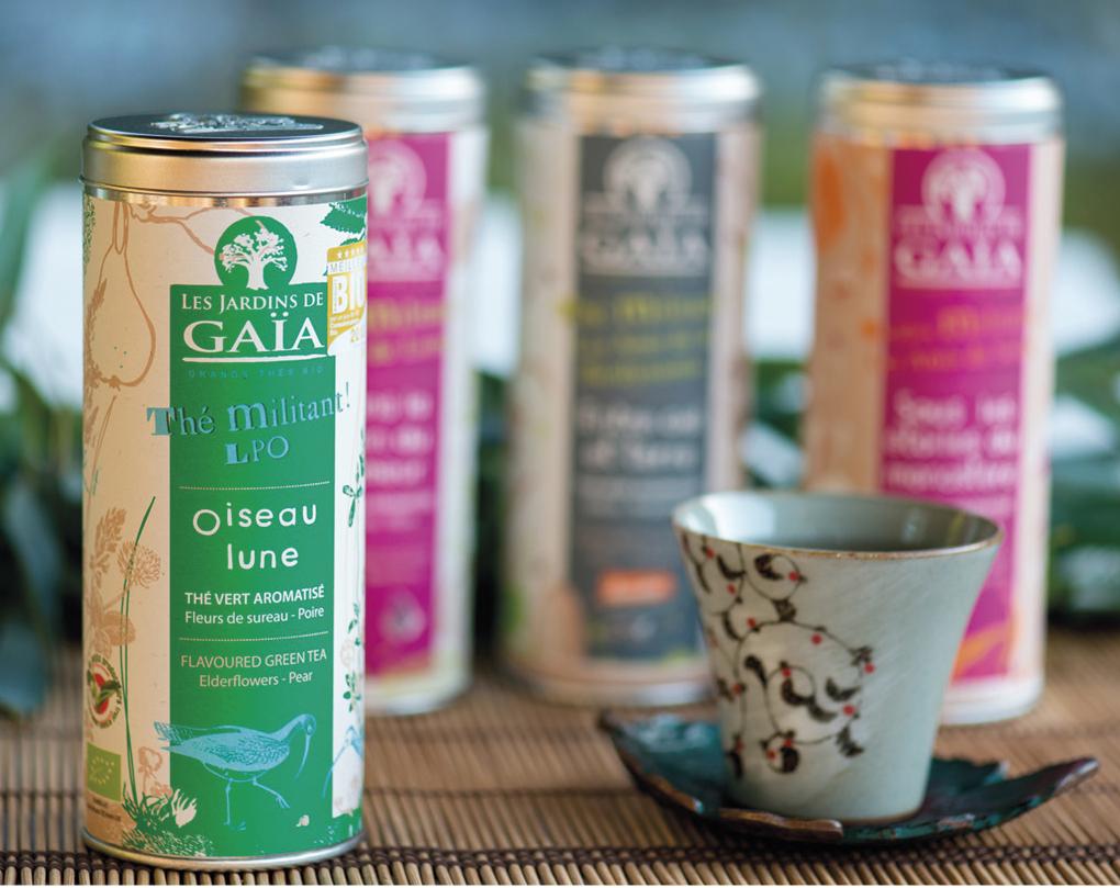 LES JARDINS DE GAÏA : Une « maison de thé » ouverte sur le ...