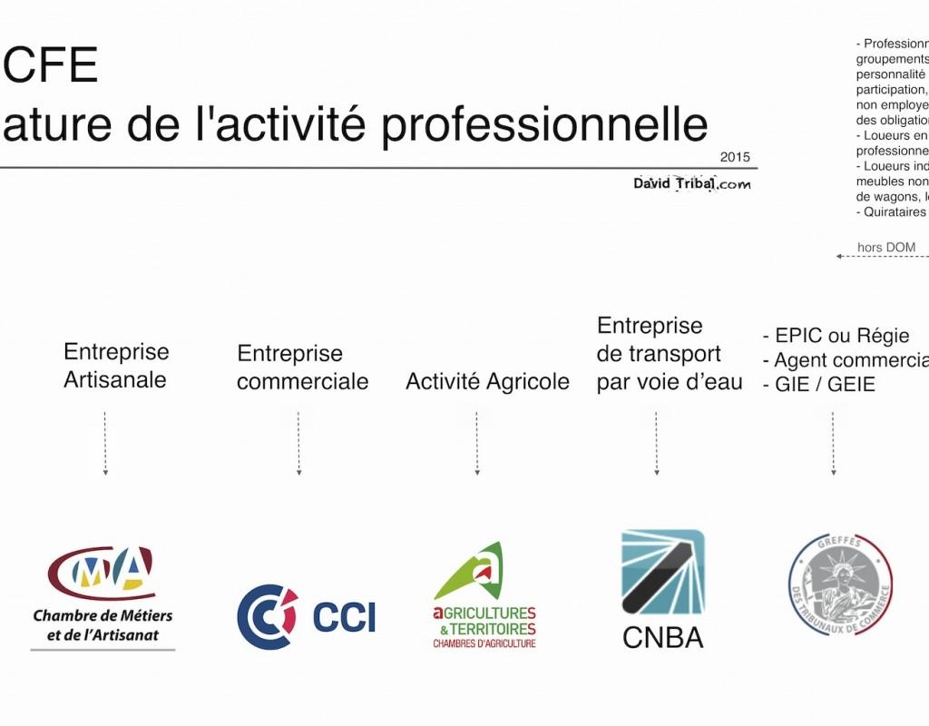 Liste des Centres de Formalités des Entreprises (CFE) selon ...