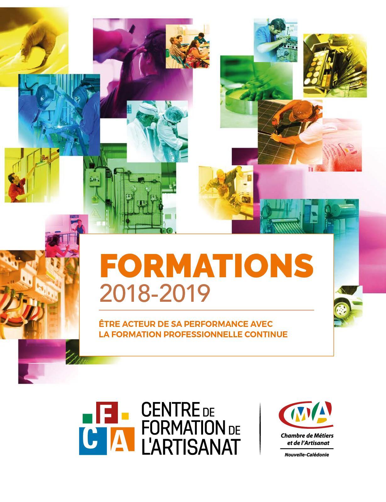 Calaméo - Catalogue Formation Cfa Cma Nc 2018 2019