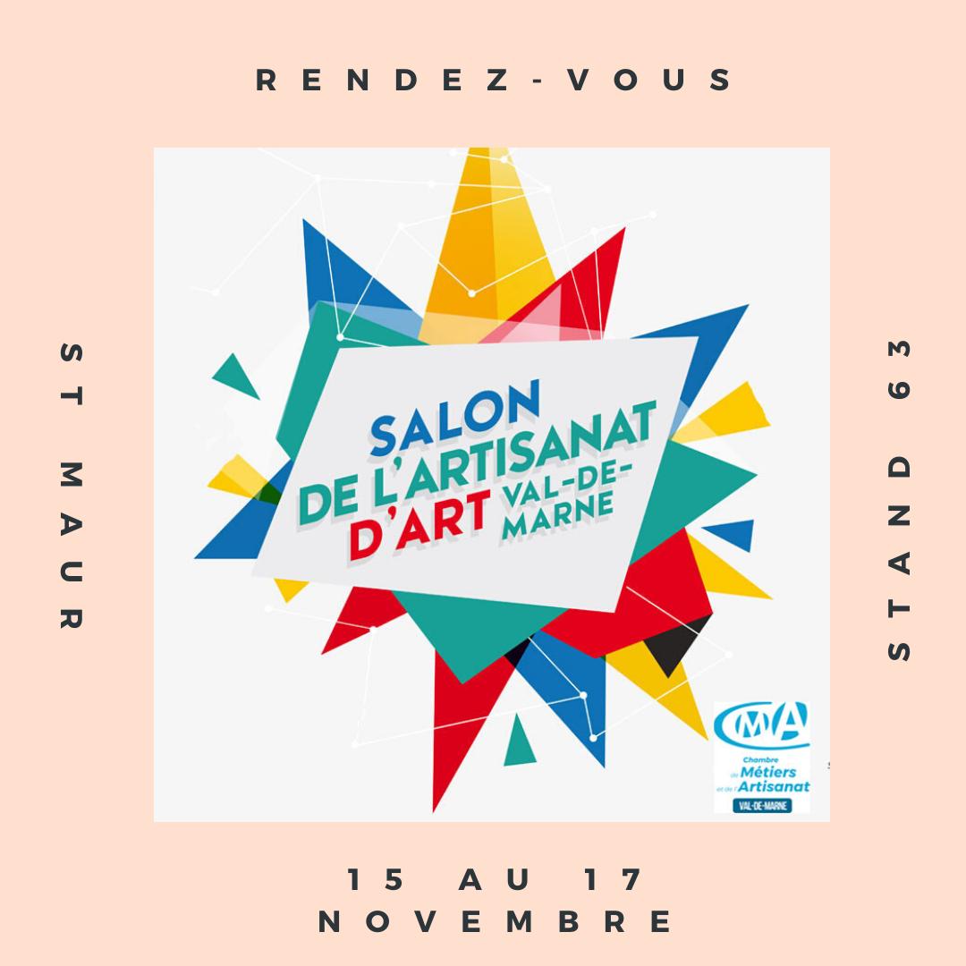 15 - 17 Novembre - Salon d'Artisanat d'Art du Val de Marne ...