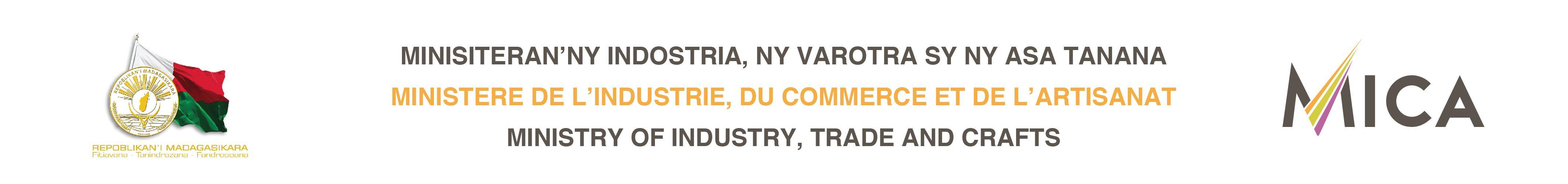 MICA – Ministère de l'Industrie, du Commerce et de l'Artisanat