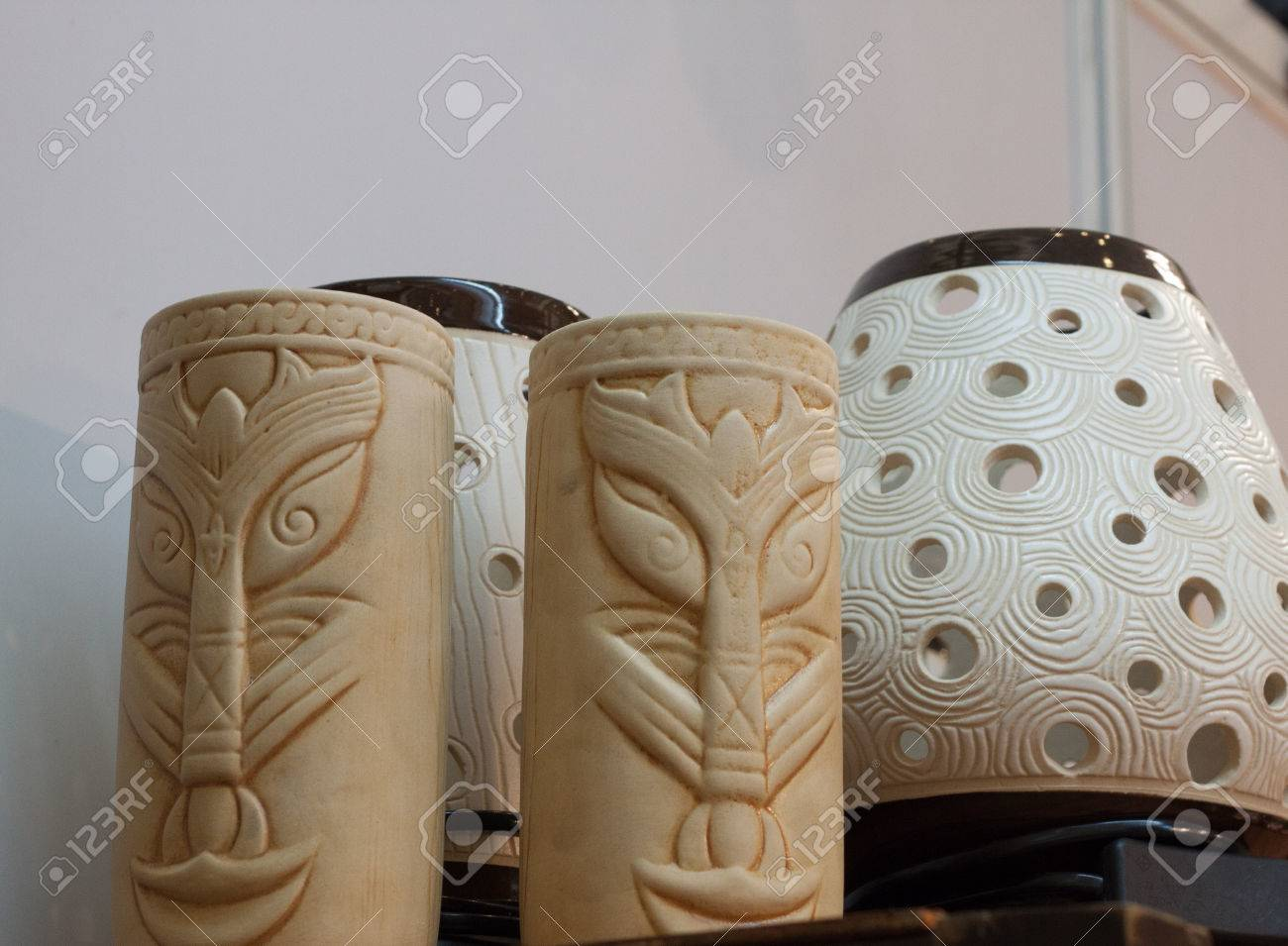 Poterie en céramique argile fabriquée artisanat souvenir objet artisanal