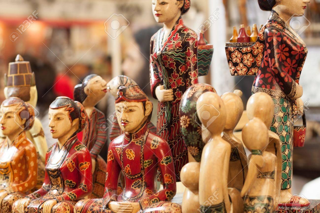 Statue en bois artisanat en bois souvenir décoration sculpture objet produit