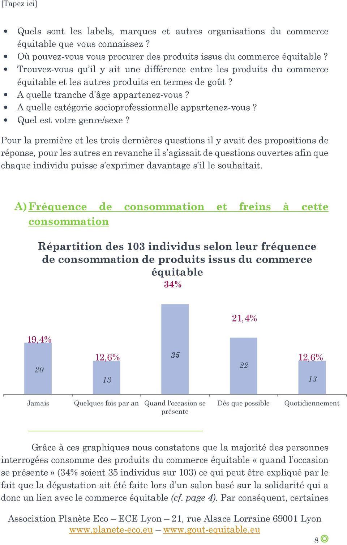ETUDE SUR LE COMMERCE EQUITABLE - PDF
