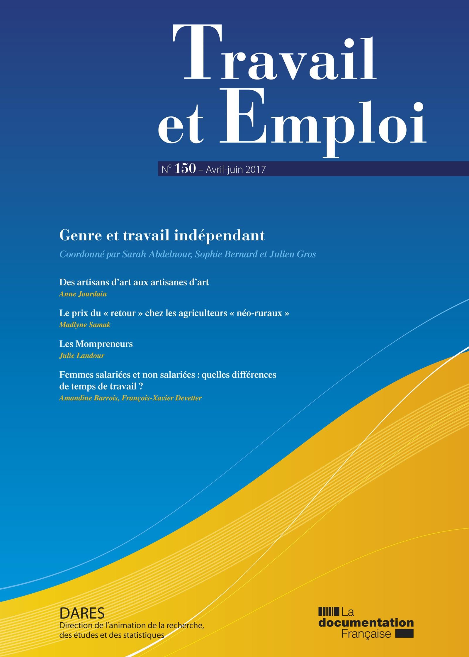 Revue Travail et emploi 2017/2 | Cairn.info