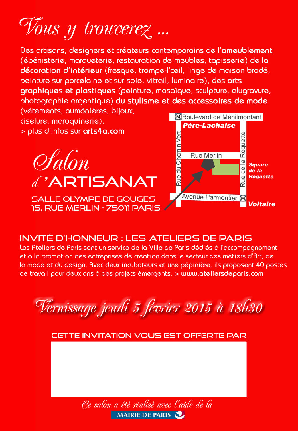salon artisanat paris 2015