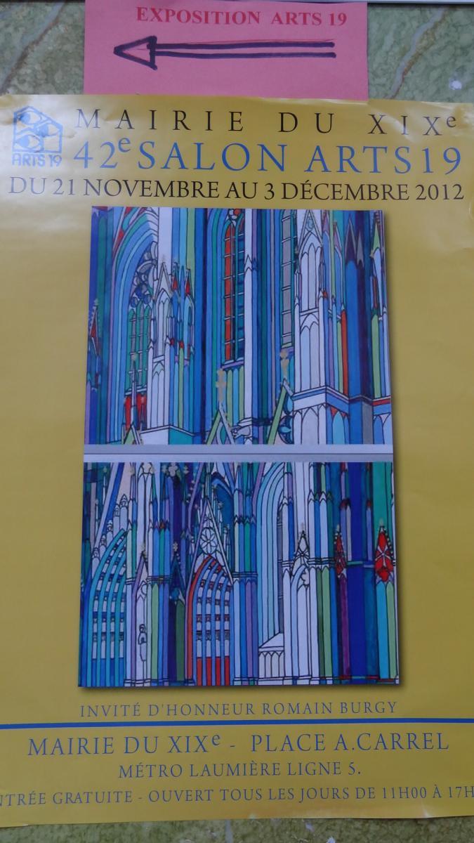 Salon Des Arts 19 : Art Et Artisanat Paris 19ème 75019 ...
