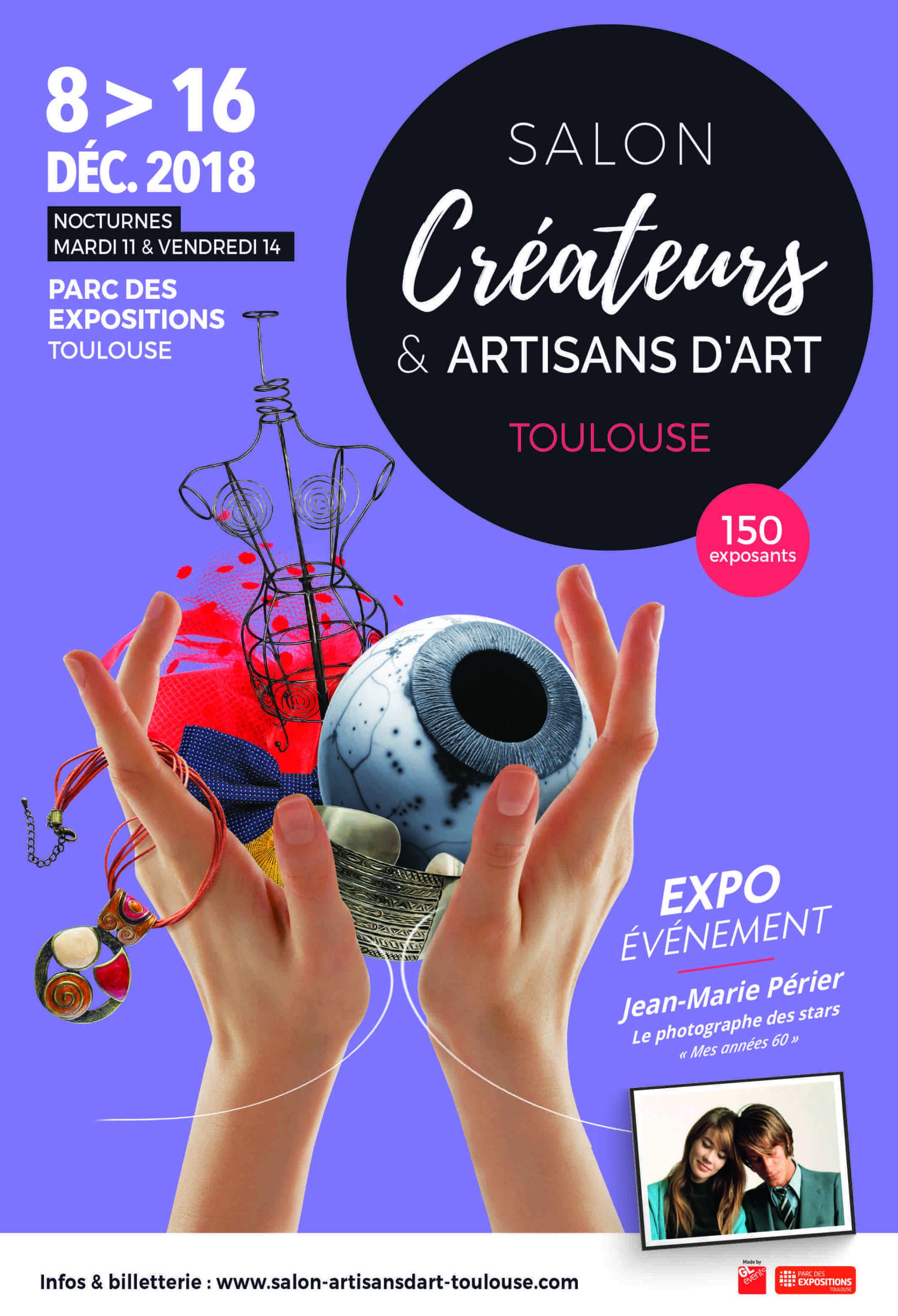 Le Salon Créateurs et Artisans d'Art dès ce samedi à ...
