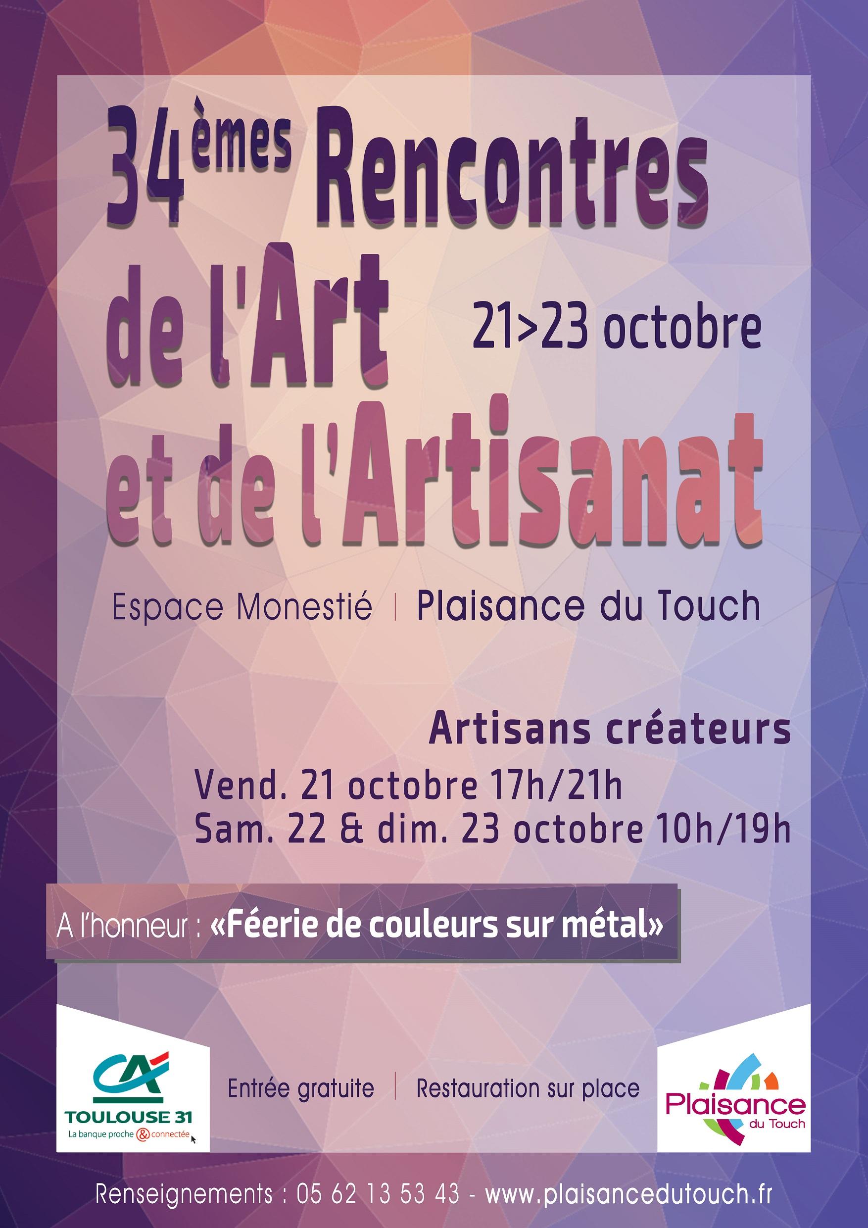 Salon de l'art et de l'artisanat à Plaisance du Touch - La ...