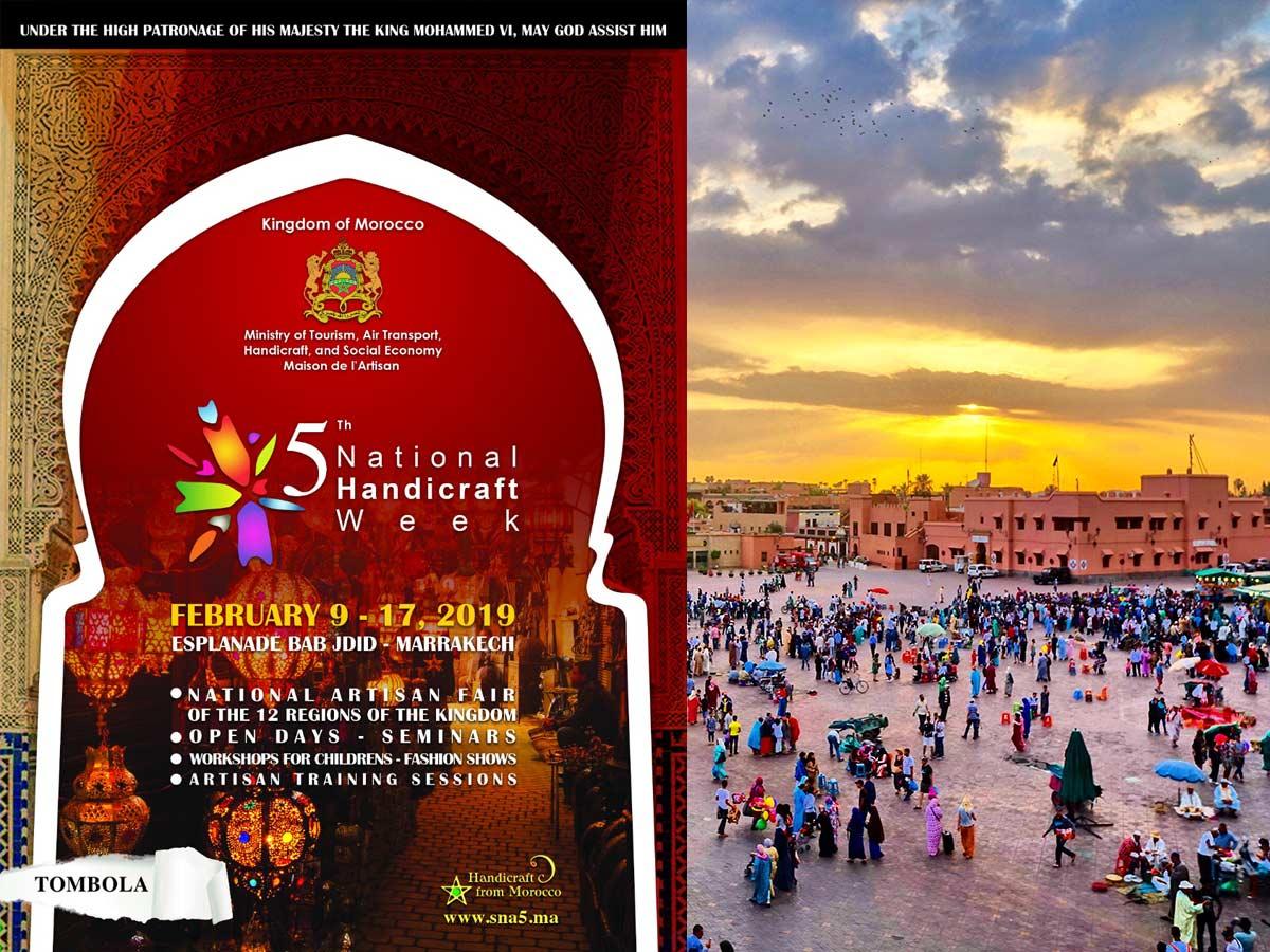 La cinquième édition de la Semaine nationale de l'artisanat ...