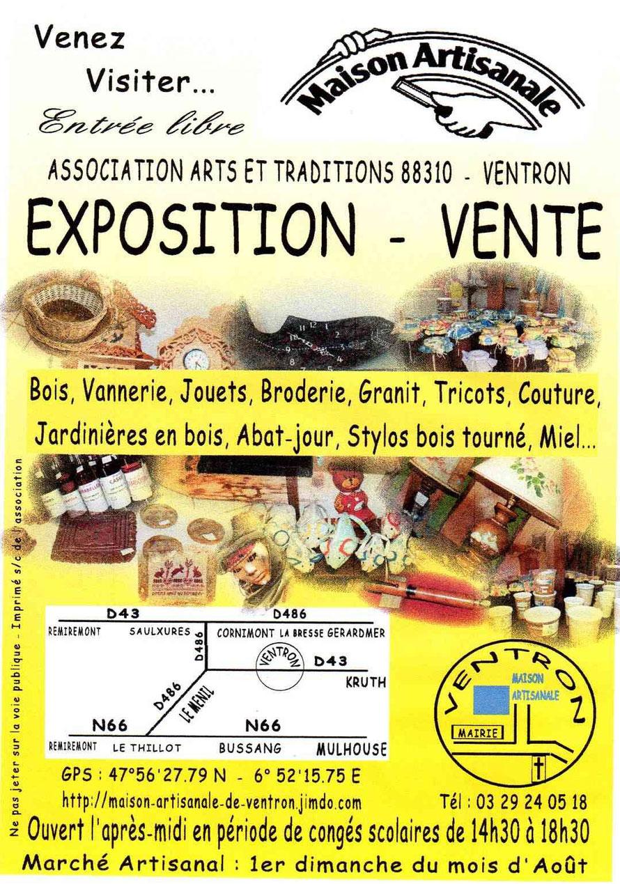 MAISON ARTISANALE DE VENTRON - Site de maison-artisanale-de-ventron !