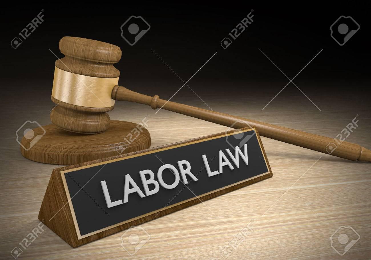 Le droit du travail pour les avantages sociaux des travailleurs et de l'emploi équitable