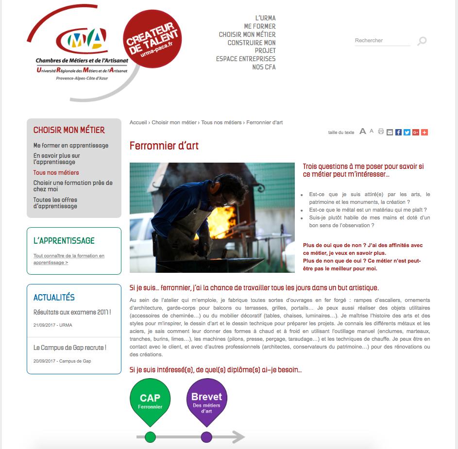 Concepteur rédacteur, rédacteur web : contenus métiers, formations ...