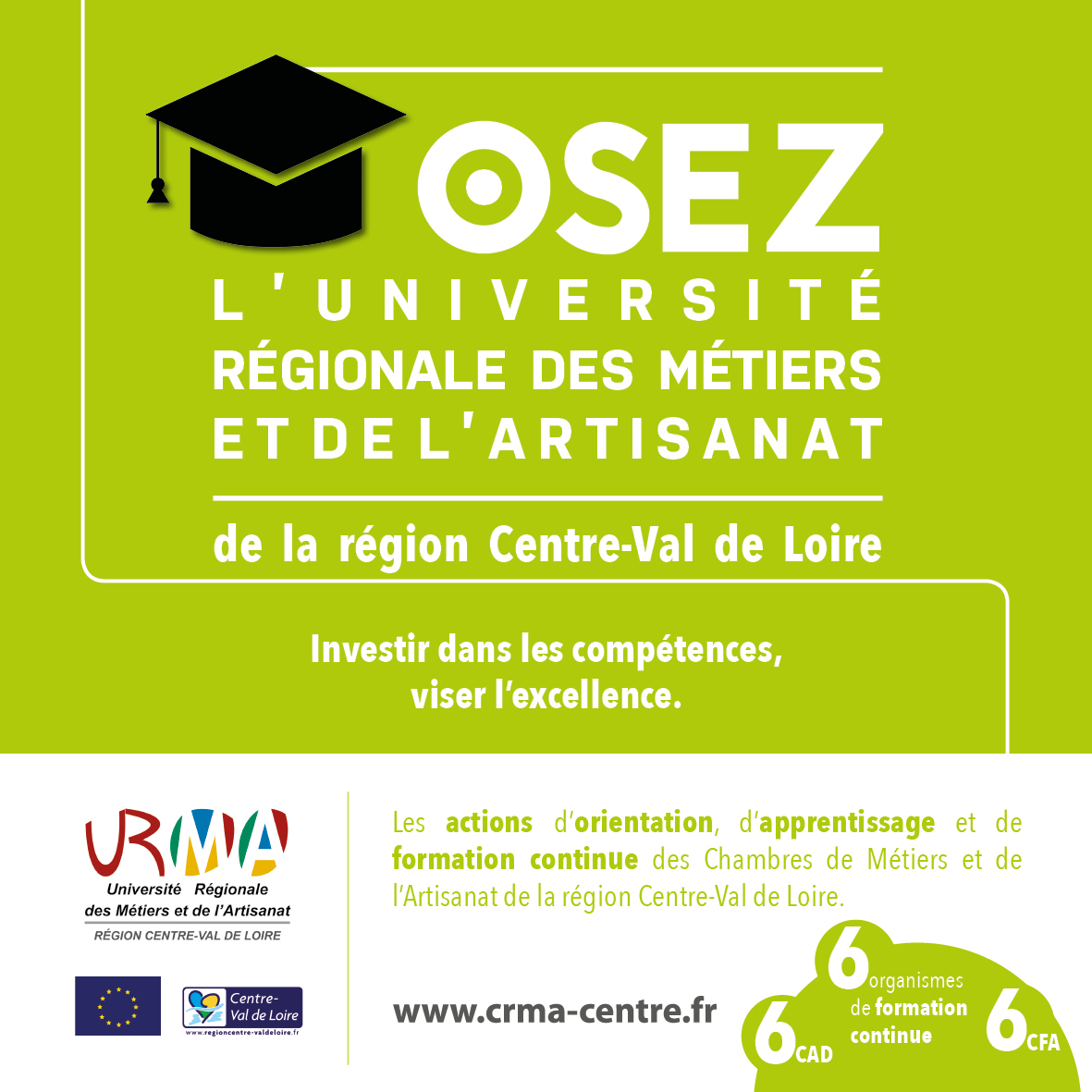 URMA : Université Régionale des Métiers et de l'Artisanat | www.cma36.fr
